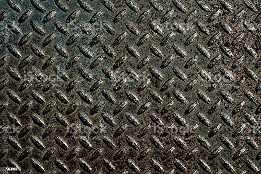 metal diamond plate background XXL royalty-free stock photo
