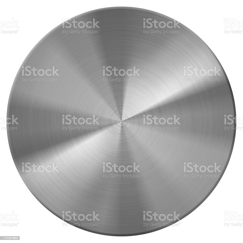 metal disc | button stock photo