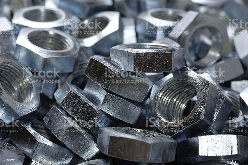 Metal disorder stock photo
