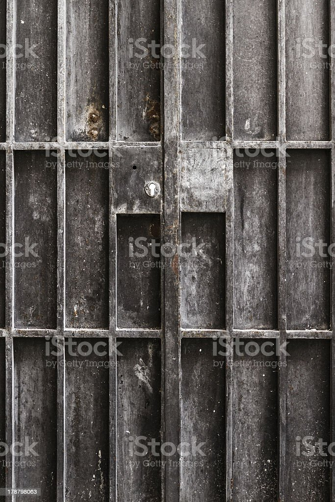 Metal Door royalty-free stock photo