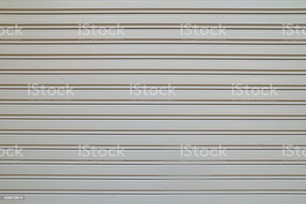 Metal door surface stock photo