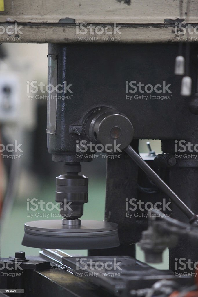 metal drilling royalty-free stock photo