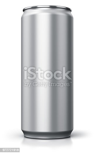 istock Metal drink can 972721918