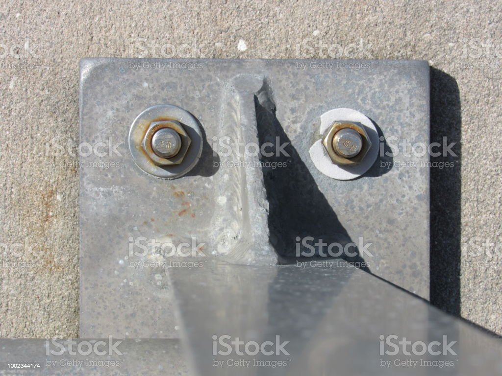 Metal Face stock photo