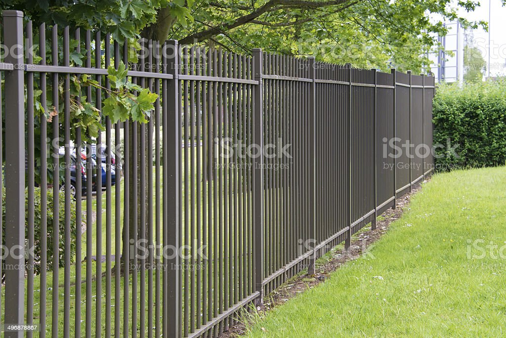 Metal Fence Stock Photo & More Pictures Of Barricade
