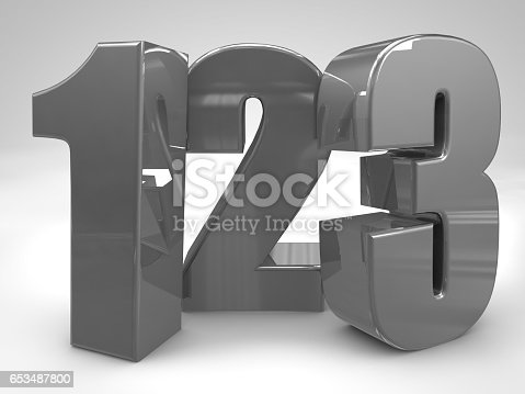 istock 123 metal figures 3d render illustration,preschool teaching 653487800