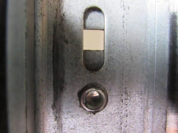 metal fittings stock photo