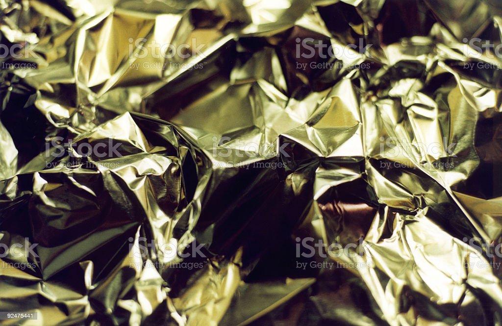 Metal Folds Background royalty-free stock photo
