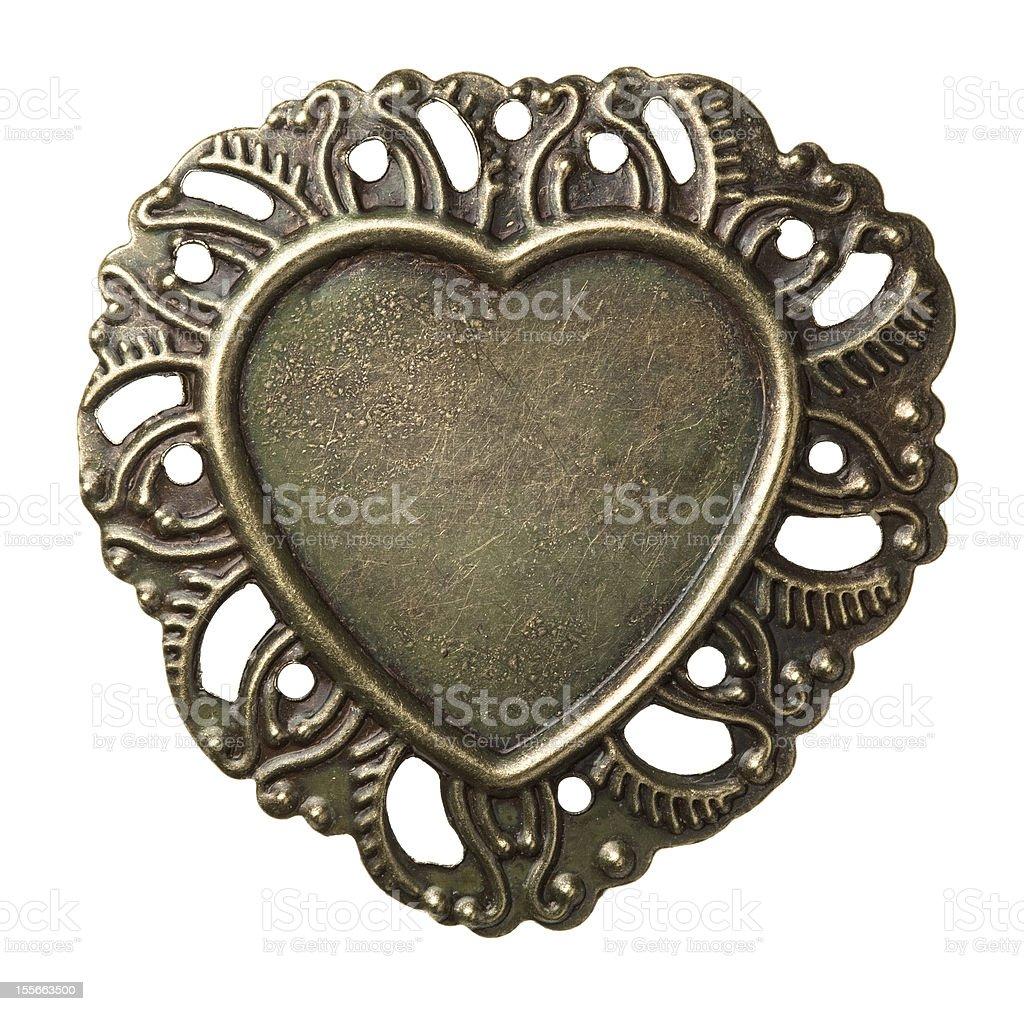 Metal frame stock photo