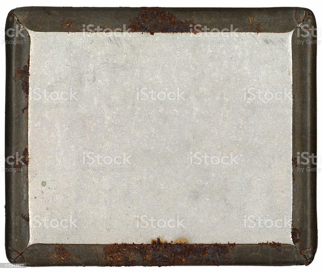 metal frame royalty-free stock photo