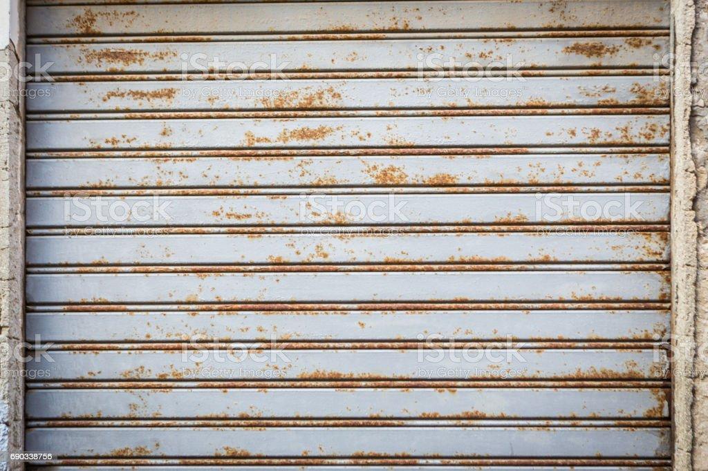 Metal Garage Door Background Stock Photo get Image Now Istock