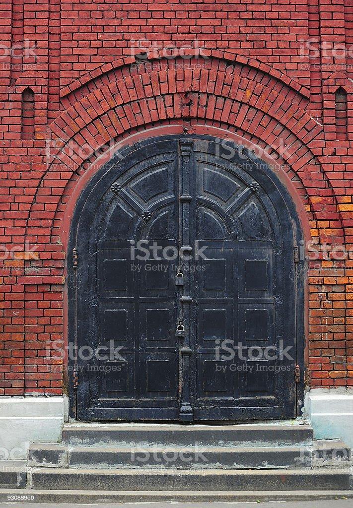 Metal Gate royalty-free stock photo