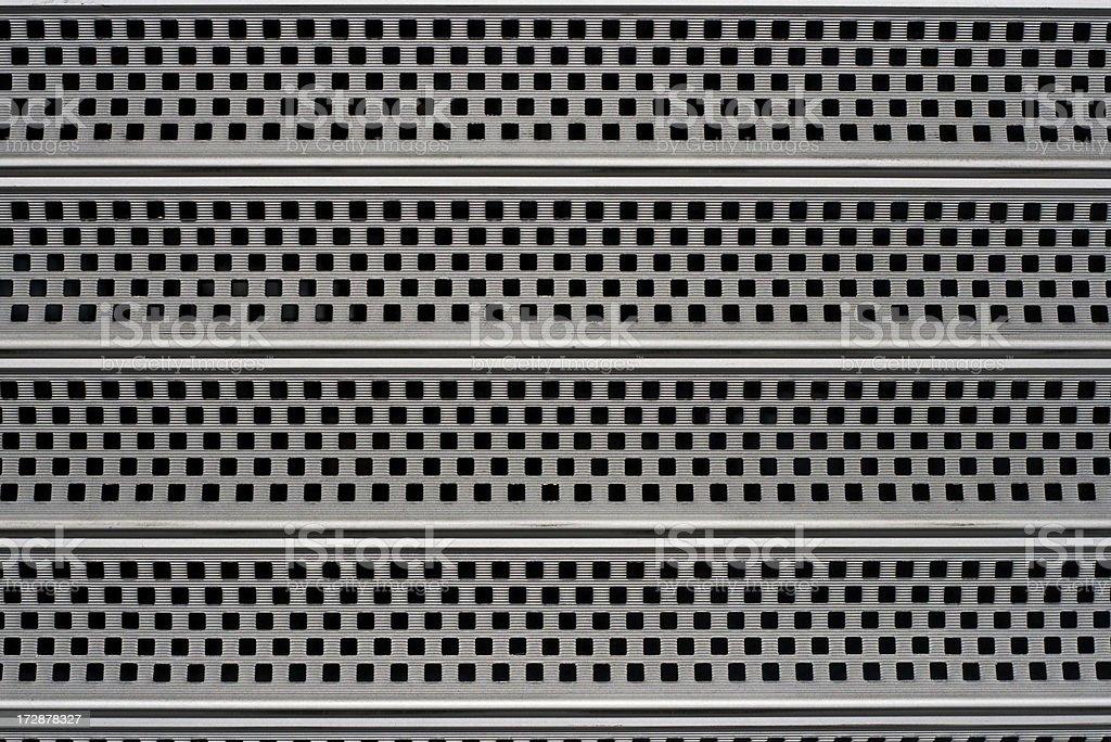 Metal gate - textured detail royalty-free stock photo