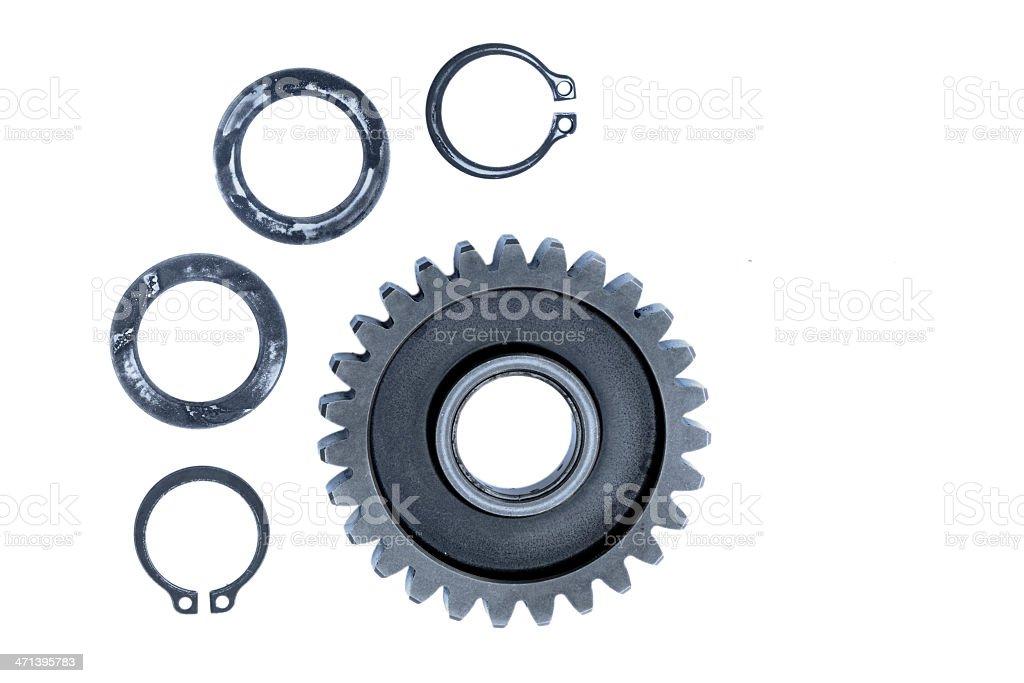 metal gear stock photo