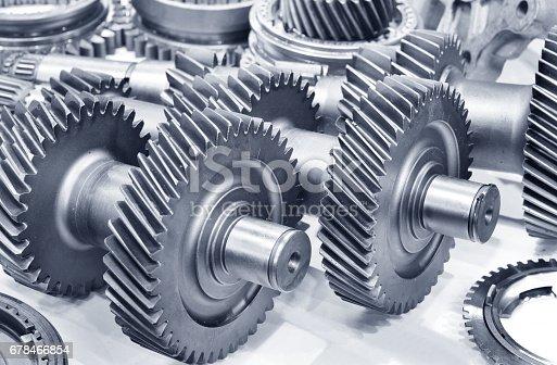 istock Metal gears 678466854