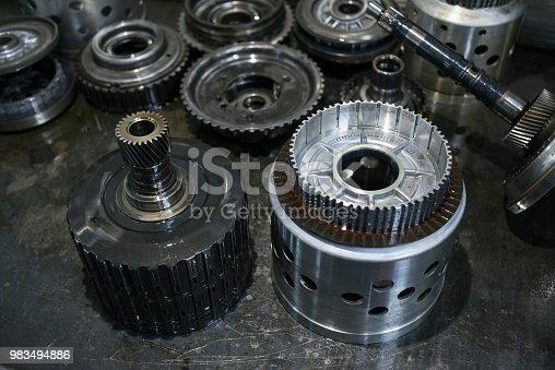 istock Metal gears 983494886