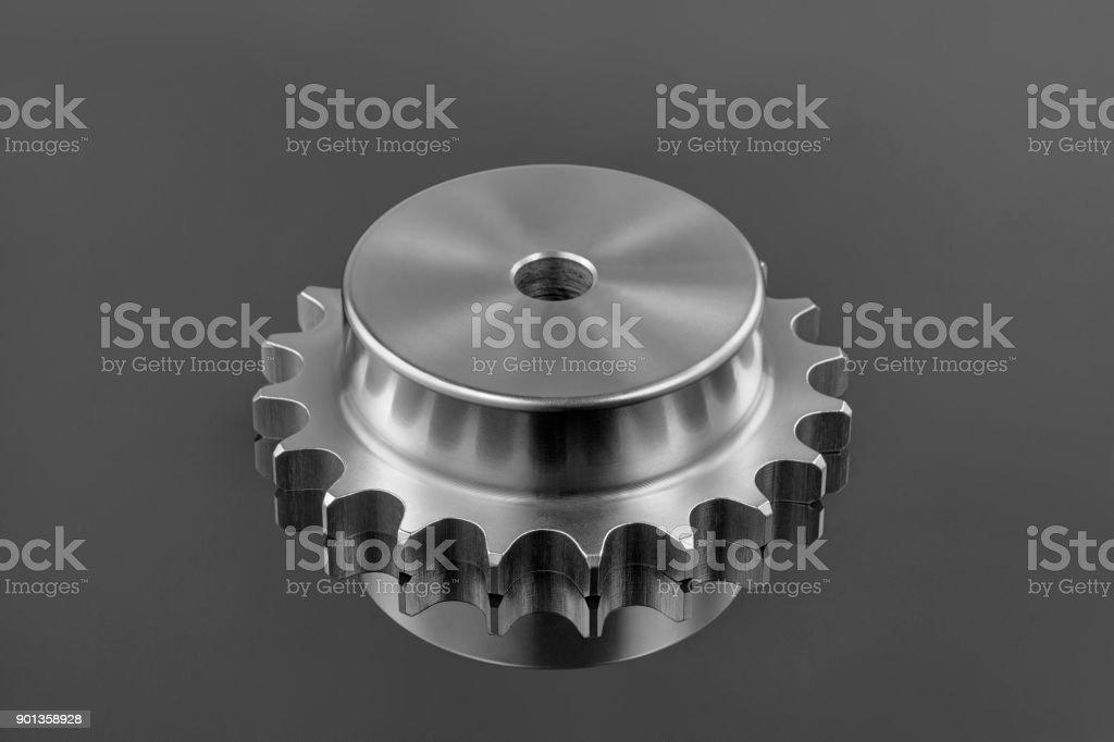 metal gear,transmission,Close up of bearings stock photo