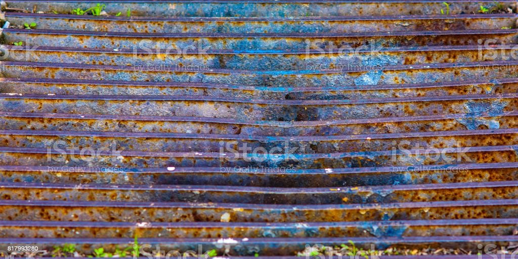 Metal Grate stock photo