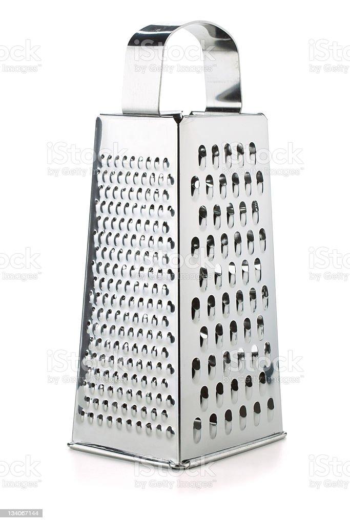 Metal grater stock photo