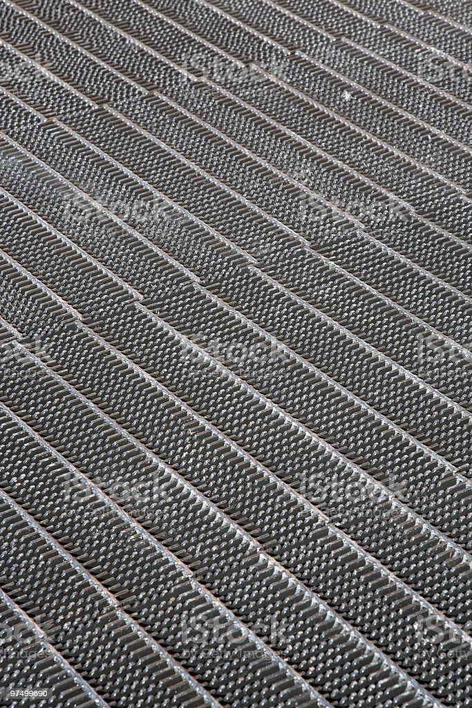 Metal grates royalty-free stock photo