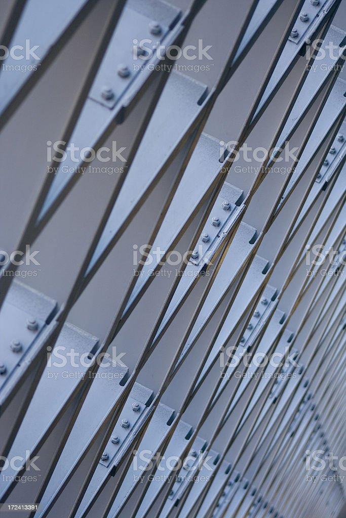 Metal grid pattern royalty-free stock photo