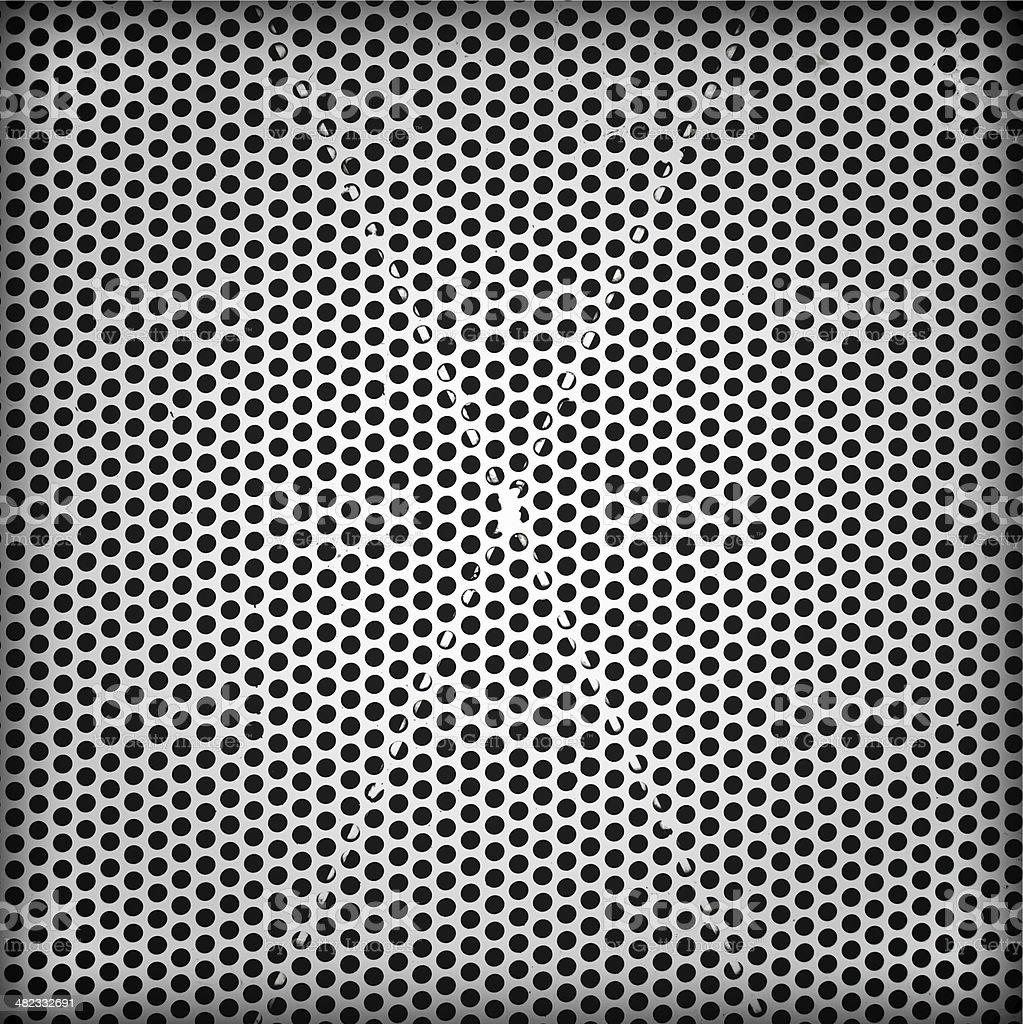 Metal grid stock photo