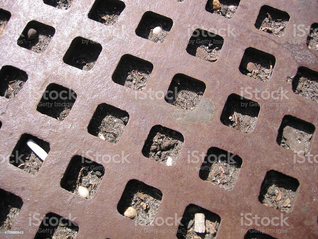 Metal - Hollow Squares royalty-free stock photo