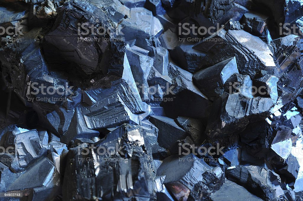 Metal ore royalty-free stock photo