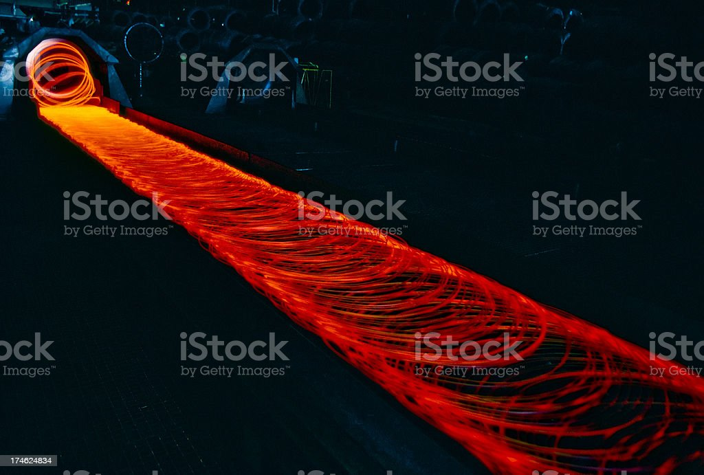 Metal industry. royalty-free stock photo