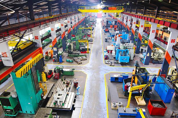 Metall industy Fabrik innen – Foto