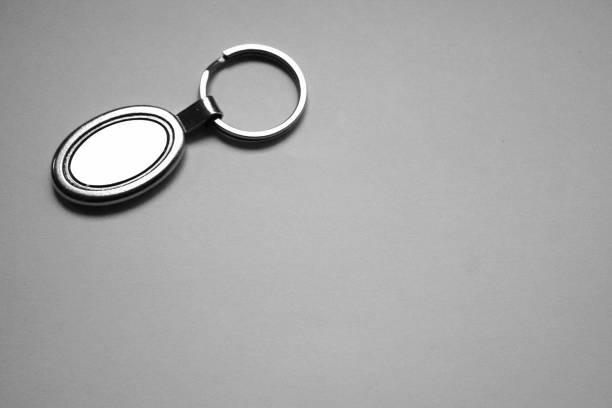 metal keychain for advertising - vectors stock pictures, royalty-free photos & images