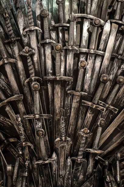 金屬騎士劍背景。 - 鐵 個照片及圖片檔