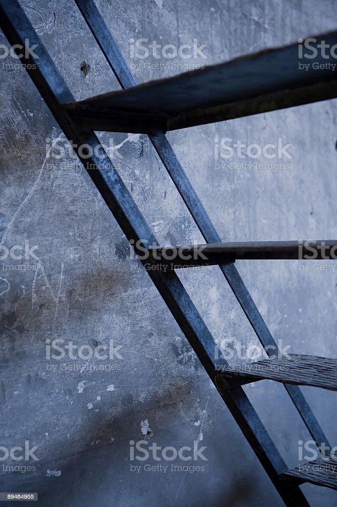 metal ladder royalty-free stock photo