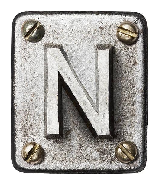 Metall Buchstaben – Foto