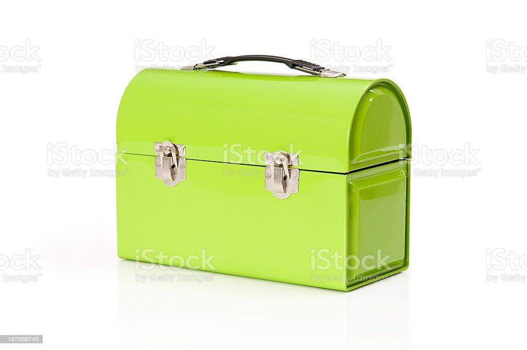 Metal Lunchbox royalty-free stock photo