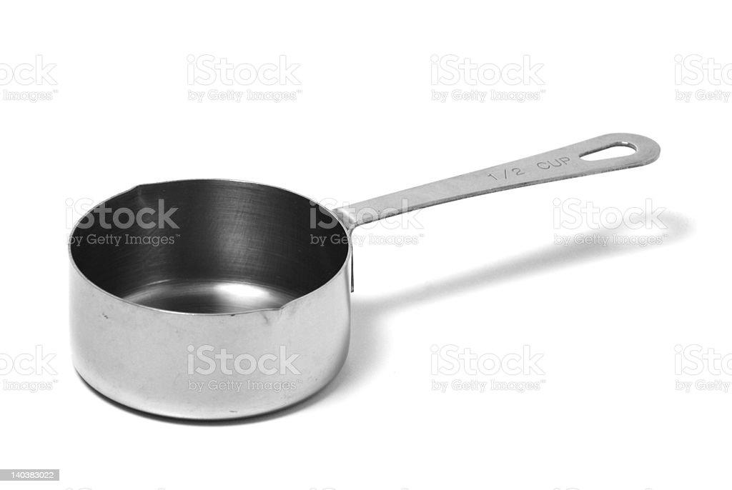 Metal Measuring Cup stock photo