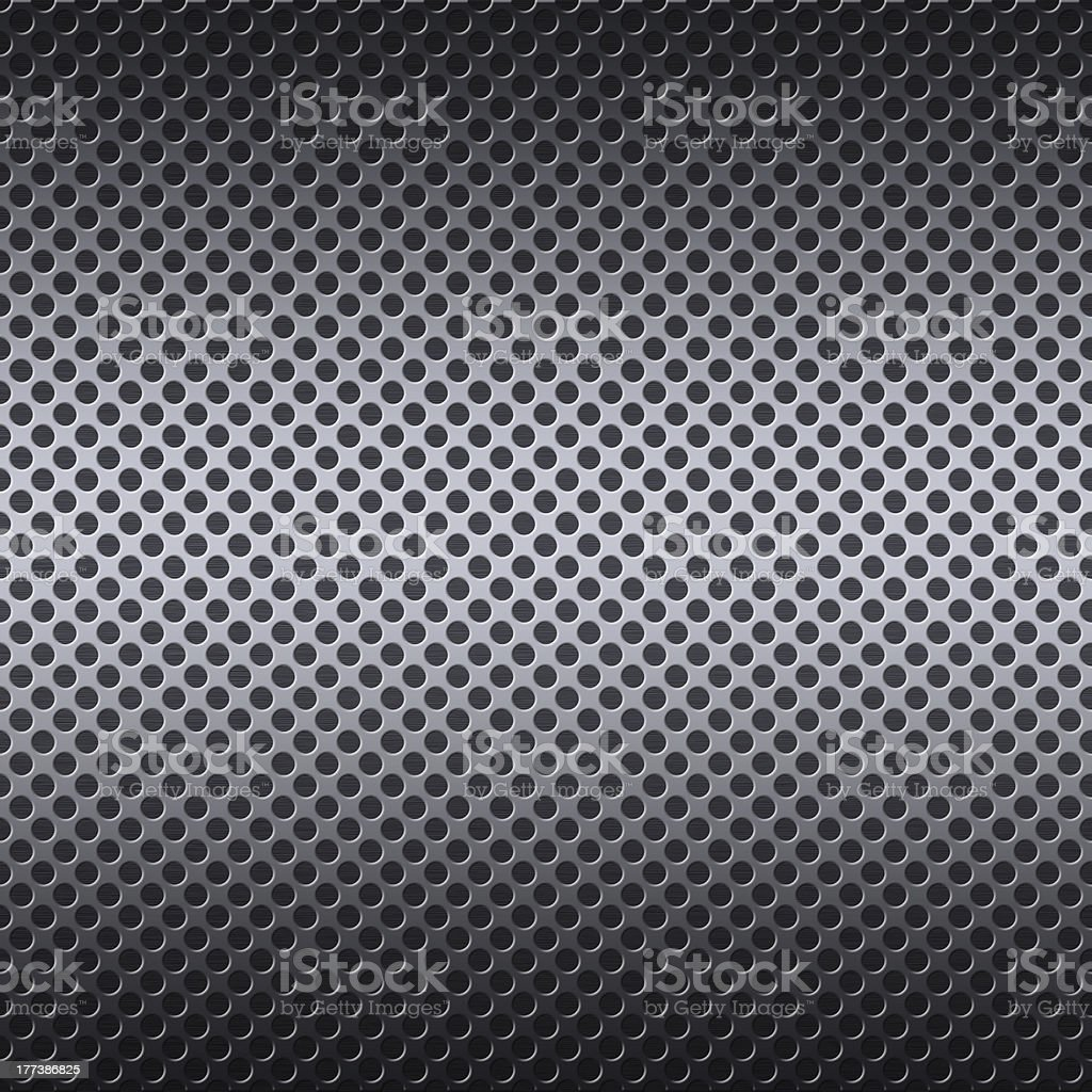 Metal mesh background with reflections royalty-free stock photo