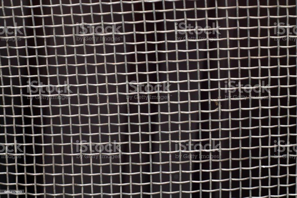 Modèle de grille de maille en métal. - Photo de Acier libre de droits