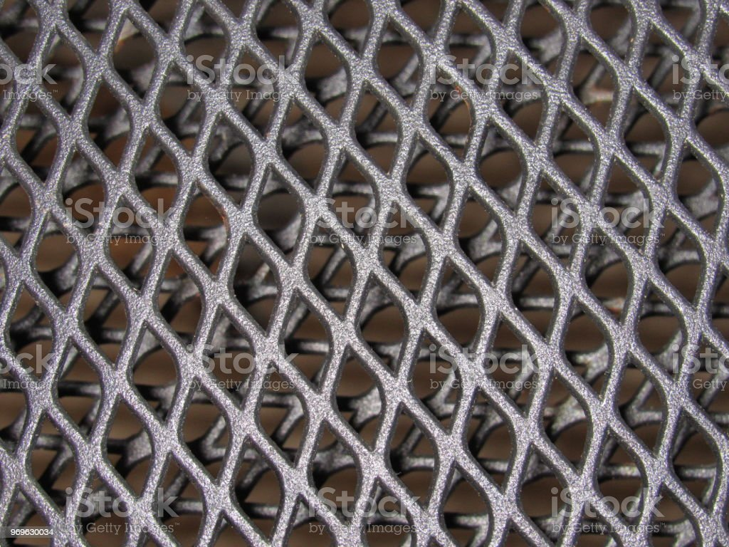 Metal mesh stock photo