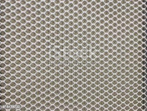 699231430 istock photo metal mesh Seamless Pattern 518473700