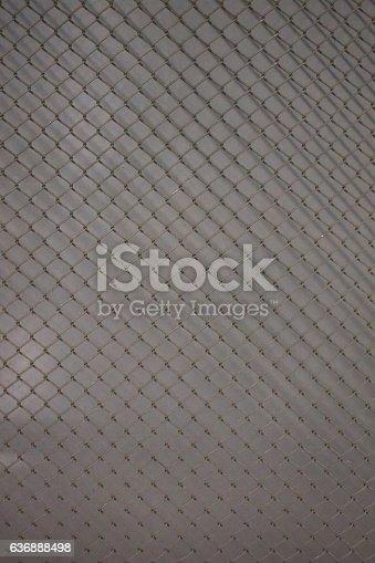 istock metal mesh Seamless Pattern 636888498