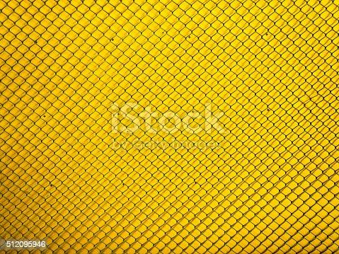 istock metal mesh Seamless Pattern with yellow 512095946