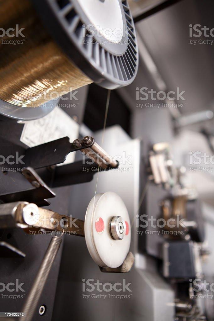 Metal molding stock photo