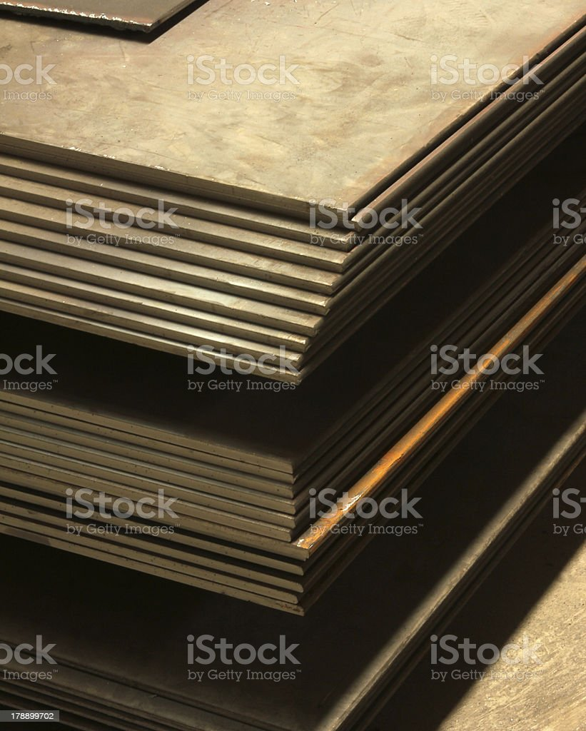 Metal Molding royalty-free stock photo
