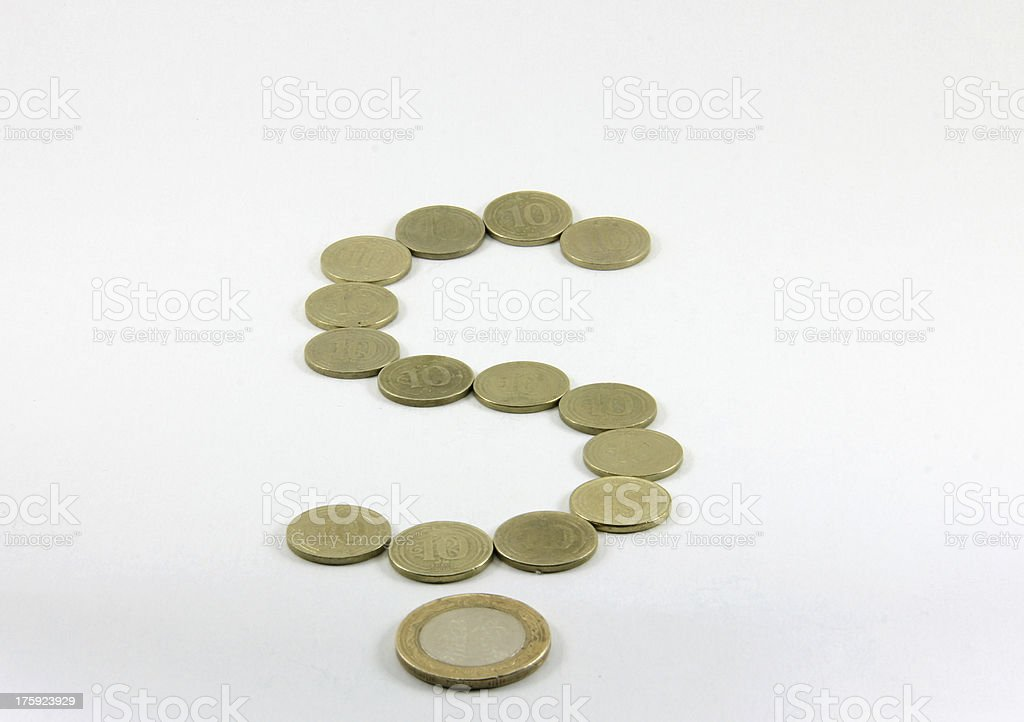 metal money royalty-free stock photo