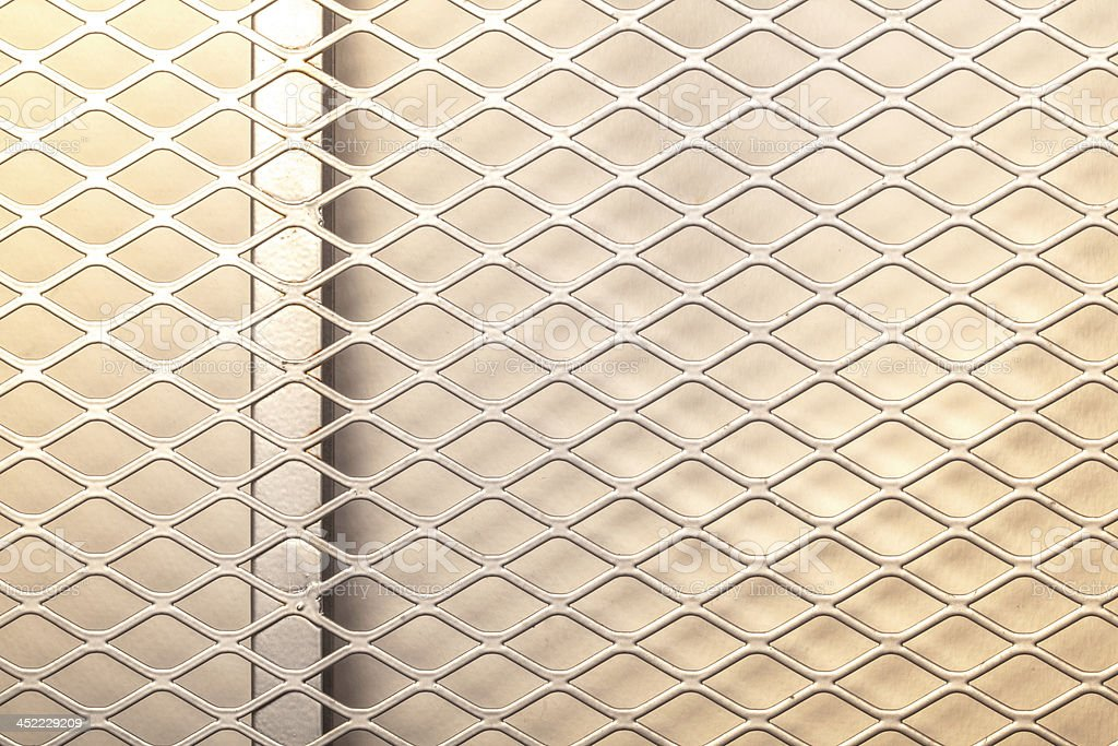 Metal net royalty-free stock photo