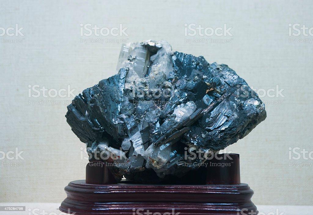 Metal Ore  wolframite stock photo