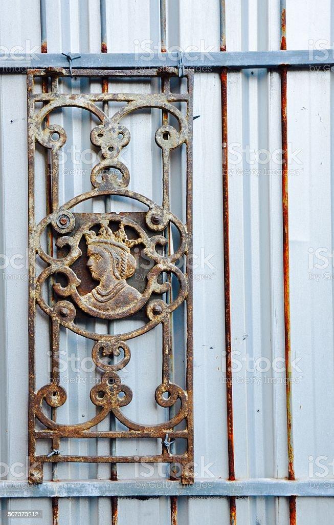 Metal Outdoor Decor stock photo