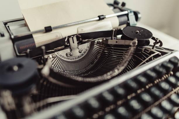 Best Typewriter Keyboard Horizontal Close Up Moving Activity