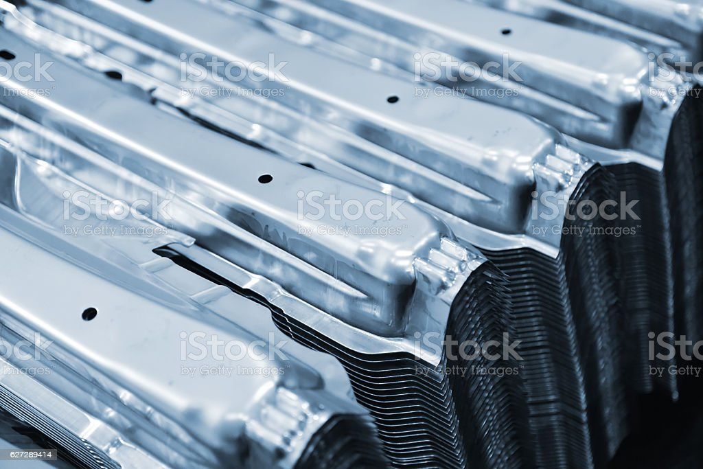 Metal parts. stock photo